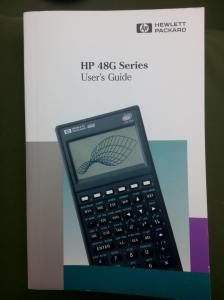 HP 48G Users guide